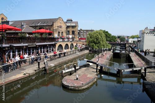 L'écluse de Camden, Londres - 7979920