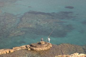 Dos pescadores.