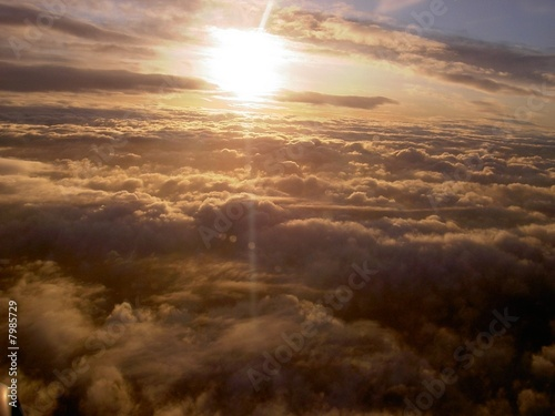 Morning Sky from the air