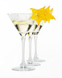 Martini glass and carambola