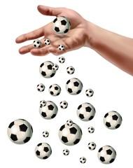 manciata di calcio