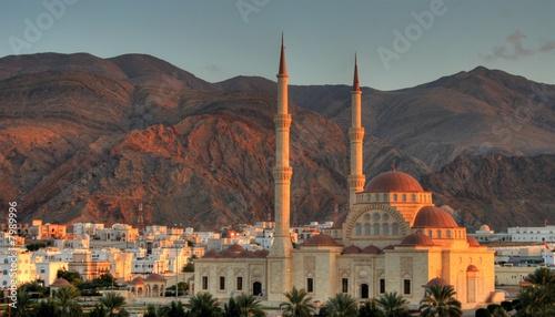 Foto op Canvas Bedehuis Sultanate of Oman - Mosque