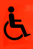 disabled persons sign poster