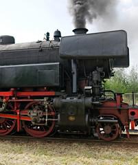 Nostalgic steam locomotive