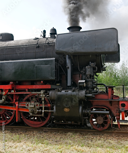 Nostalgic steam locomotive