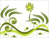 Greenery Goddess poster