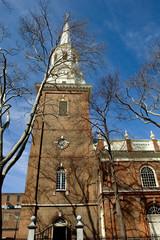 Historic Episcopal Christ Church in Philadelphia, Pennsylvania