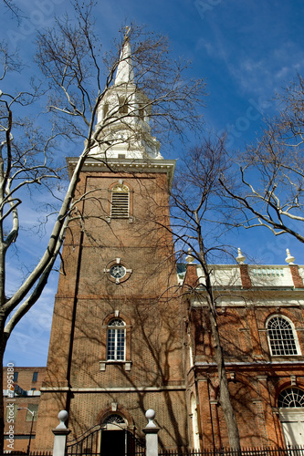 Historic Episcopal Christ Church in Philadelphia, Pennsylvania