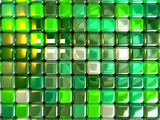 background green cubes