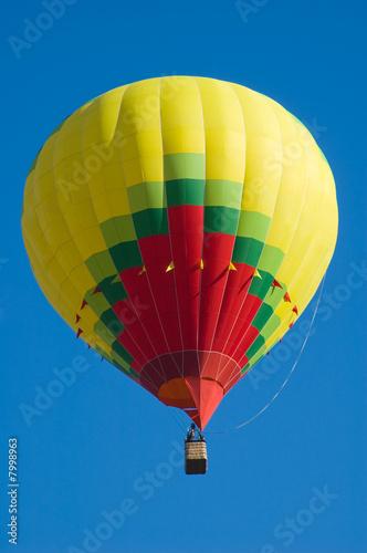 In de dag Ballon air spheres in the blue sky