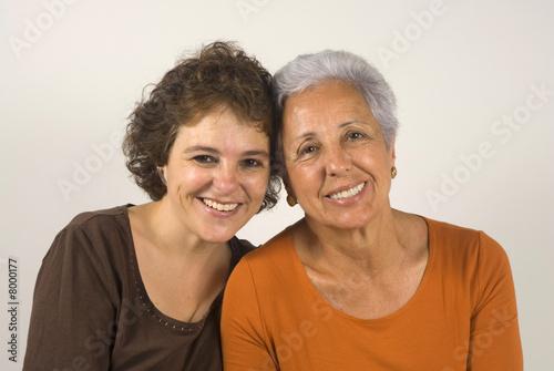Mère et fille Poster