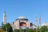haghia sophia mosque, istanbul, turkey poster