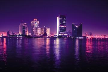 Dubaj nocą, Zjednoczone Emiraty Arabskie
