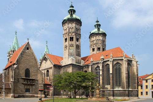 Leinwanddruck Bild Naumburger Dom