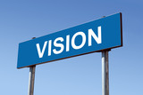 Vision signpost poster
