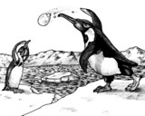 Penguin Snowball Fight poster