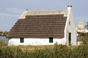 Maison typique de Camargue