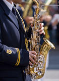 Musicians at the Festival of Military Bands poster
