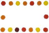 Cornice di caramelle poster