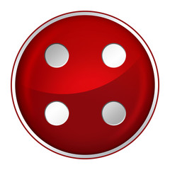 Button 4 rot
