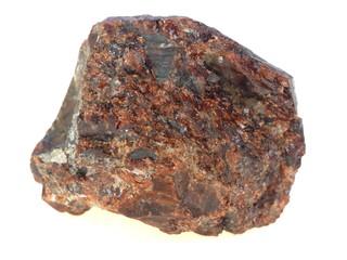 Raw garnet  (decorative mineral)
