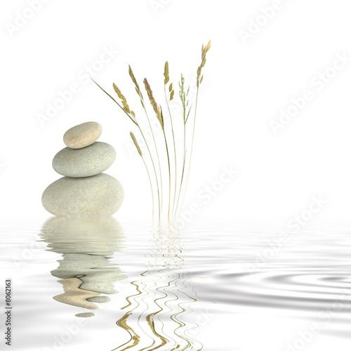 Leinwandbild Motiv Zen Peace