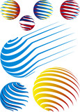 Choose sphere for you logo poster