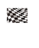 checkered flag bellowing in the wind ideal background image poster