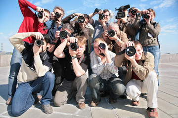 group of photographers