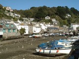 Picturesque Cornish Village poster