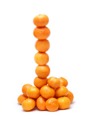 Tower of tangerines