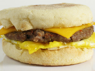 Egg & Sausage Sandwich