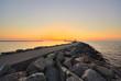Fototapete Ostsee - Sonnenuntergang - Küste