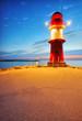 Fototapete Meer - Rostock - Hafen