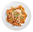 Linguine Pasta with Chicken