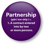 Partnership poster