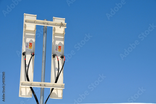 Back-side of Wireless Communication Antennas