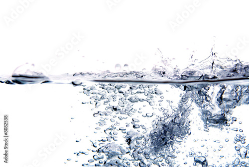 canvas print picture Splash water