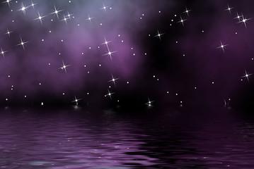 estrellas en el mar