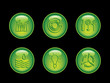 Ecology button neon series