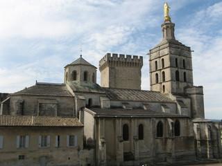 Notre-Dame Cathedral in Avignon