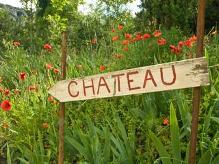 Chateau sign