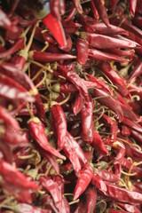 peperoncini rossi piccanti essiccati
