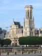 Paris - Mairie du 1er et tour de Saint Germain l'Auxerrois