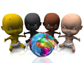 peuple de la terre