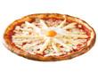 pizza con asparagi e uova