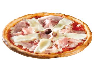 pizza con bacon