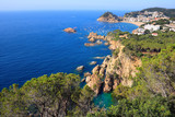 Tossa de Mar cliffs (Costa Brava, Spain)
