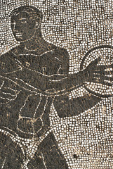 mosaico atleta