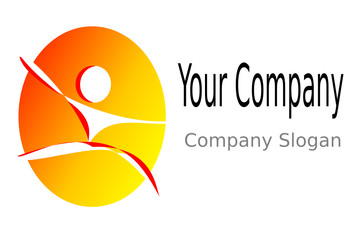 logo Physiotherapie gelb rot